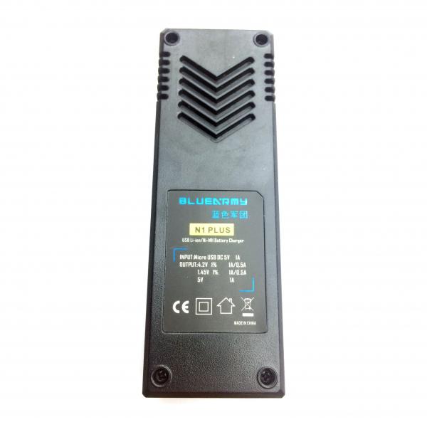 Incarcator USB de baterii Li-Ion Ni-Mh BlueArmy N1 Plus AA AAA [2]