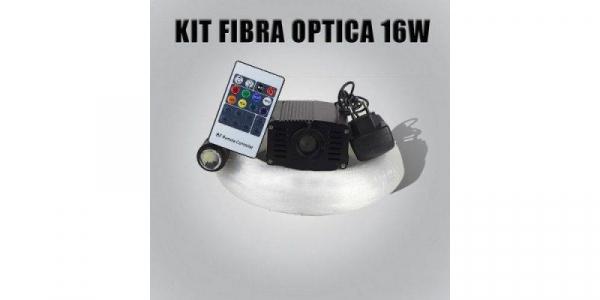Kit de iluminat cu fibra optica 16W 500m [0]