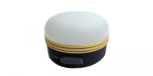 Lampa reincarcabila pentru camping, lumina alb cald, 300lm, cu functie de incarcare telefon, 1800mAh Li-Ion [0]