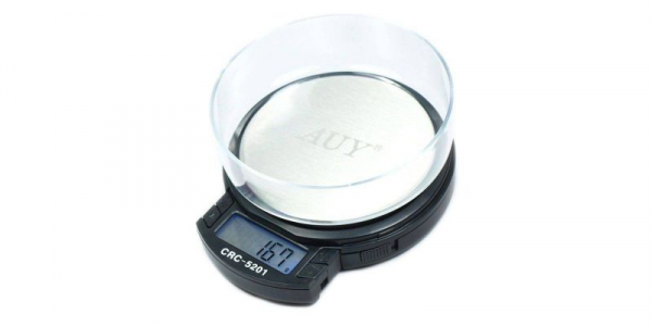 Mini cantar electronic profesional 0-500g/0-200g AUY CRC-5201 [0]