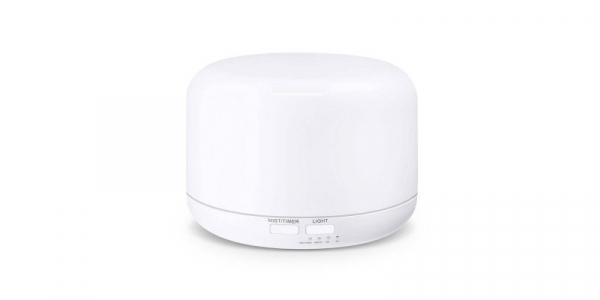 ML-A3 Difuzor aromaterapie alb cu telecomanda ( CADOU ULEI LAVANDA 10 ML ) [1]