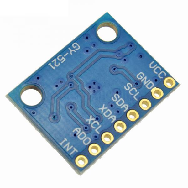 Modul accelerometru cu giroscop pe 3 axe cu senzor GY-521 MPU-6050 [1]