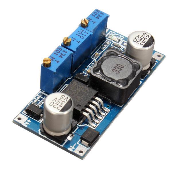 Modul convertor DC-DC, coborator de tensiune cu limitare curent LM2596 CC/CV OKY3497-5 [1]