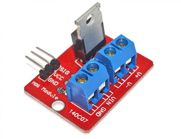 Modul cu Tranzistor de Putere IRF520 [0]