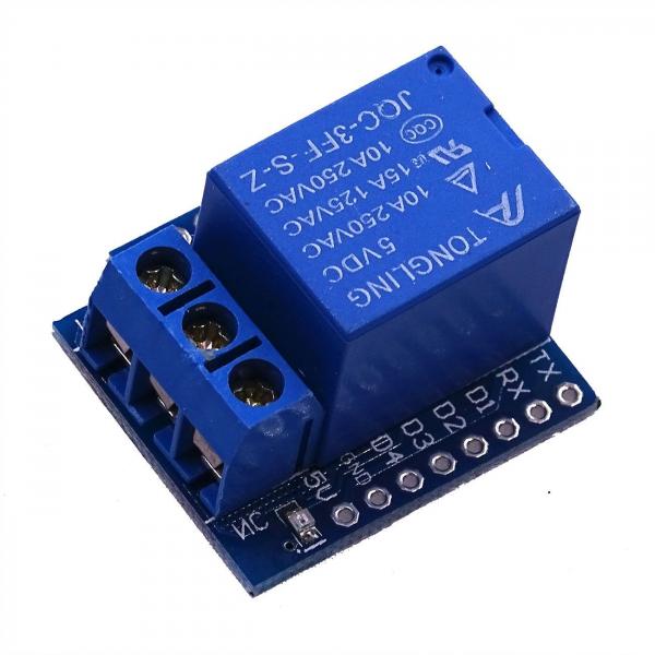 Modul de extensie cu un releu Ubob-5V compatibil D1 mini [0]