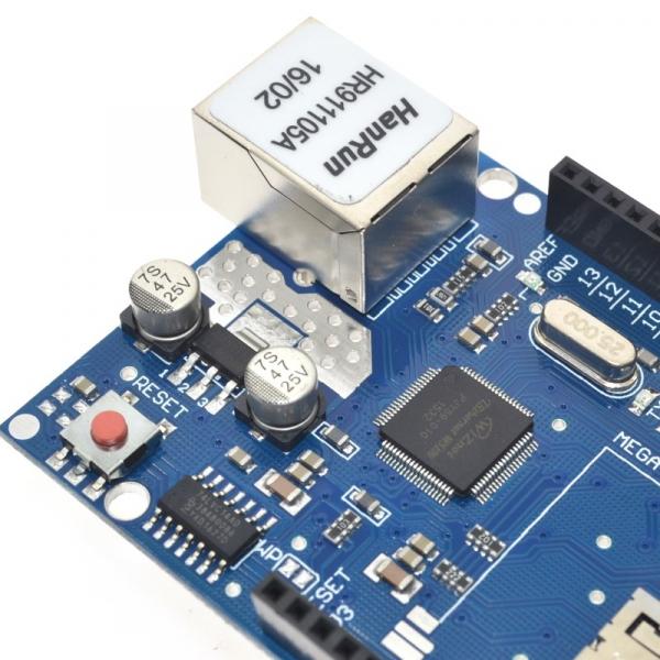 Modul de extindere placa de retea W5100 cu card SD [3]