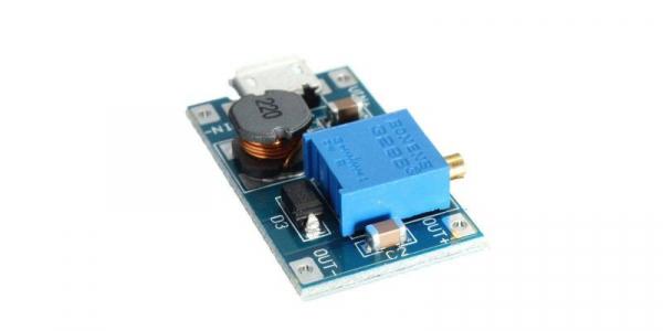 Modul step-up USB 5V intrare 6V-24V iesire 2A [0]