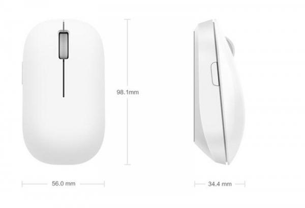 Mouse Wireless Xiaomi Mi Alb [0]