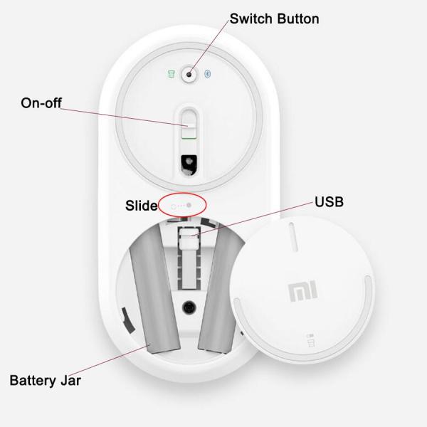 Mouse Wireless Xiaomi Mi Gi Bluetooth 4.0 [2]