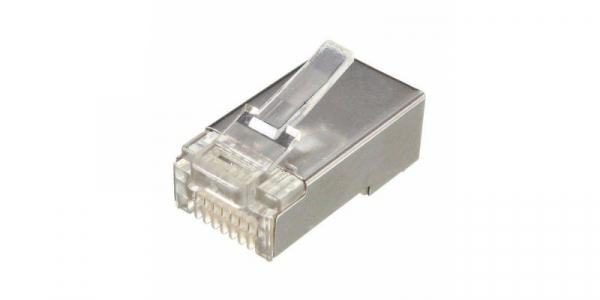Mufa RJ45 UTP/ FTP, 8 pini, cu ecranaj metalic [0]