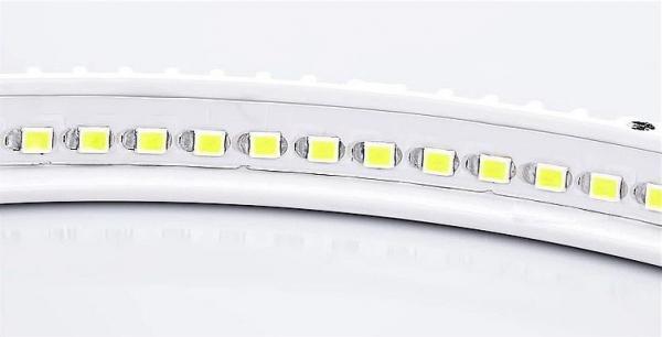 Panou cu LED rotund incastrabil, diametru 30cm, alb rece, 6500K, ultra-slim, 24W, 85-265V AC, (driver 54-96V) [1]