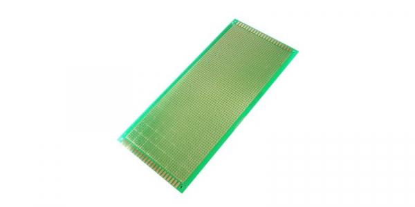 Placa de Test Gaurita, Verde, 100x220mm 2800 puncte de lipire, placa universala circuite [0]