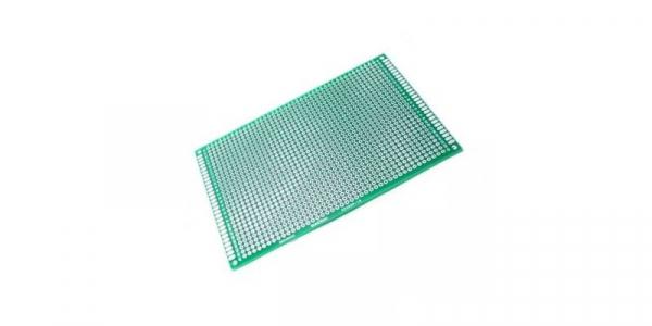 Placa de Test Gaurita, Verde, 120x180mm 2184 puncte de lipire, placa universala circuite [0]