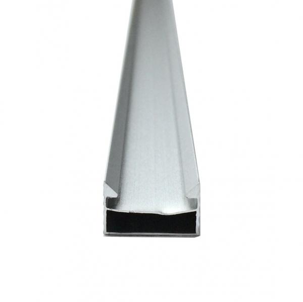 Profil aluminiu / Canal Banda Led Hard Strip, capac alb mat, Lungime 1m [1]