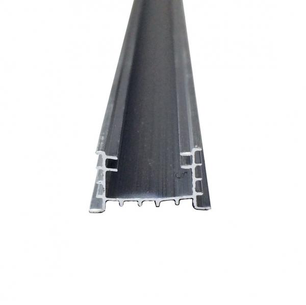 Profil aluminiu / Canal Banda Led Hard Strip, capac alb mat, Lungime 2m [1]