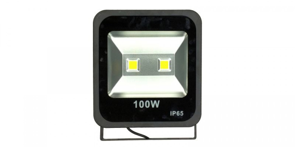 Proiector LED 100W, alb cald, 2x50W LED, IP65, 220V [0]