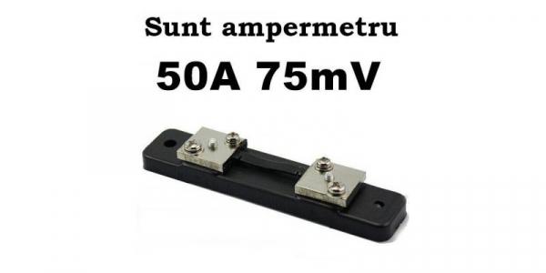 Sunt 50A 75mV ampermetru analogic de panou [0]