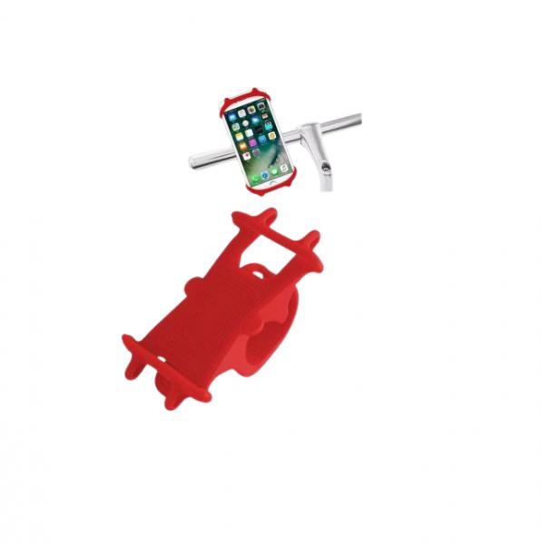 Suport de bicicleta pentru telefon mobil din silicon [1]