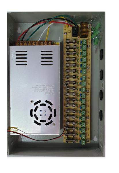 Sursa alimentare 12V / 30A cu 18 canale POWER BOX30A [1]