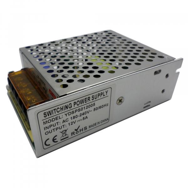 Sursa de alimentare industriala / in comutatie 12V 5A in cutie de tabla perforata YDSPS012005 [1]