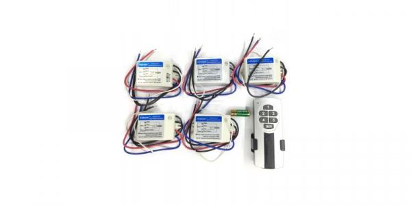 Telecomanda RF HONGDI cu 5 receptoare DH121N5 [0]