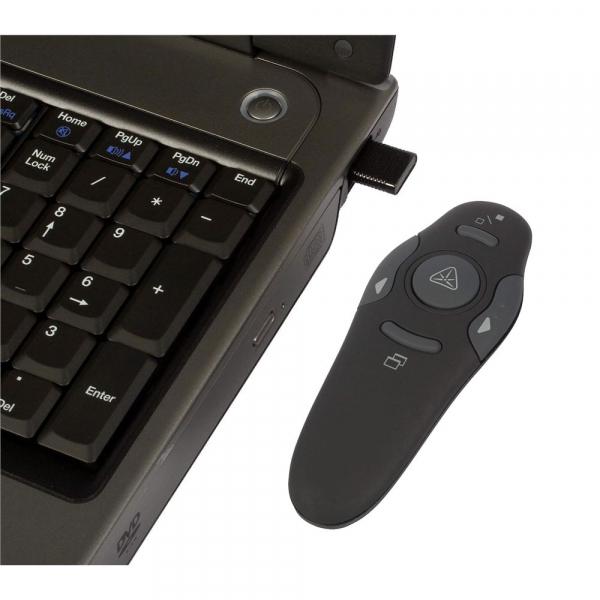 Telecomanda wireless prezentari PowerPoint cu laser pointer [1]