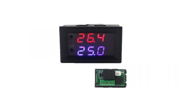 Termostat electronic cu afisaj digital, alimentare 12V, regulator temperatura [0]