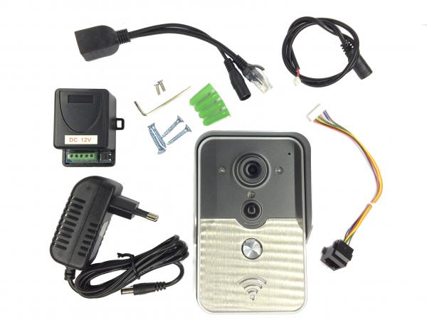Videointerfon IP Wireless, conectare Smartphone [3]