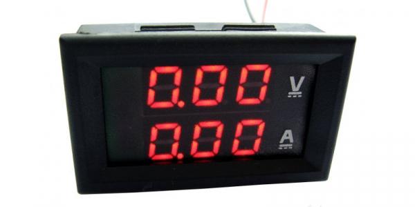 Voltampermetru digital 0-9,99A, 0-99,9V [1]