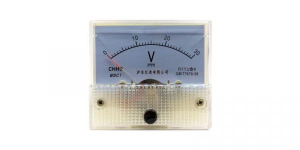 Voltmetru analogic de panou 30V curent continuu [0]