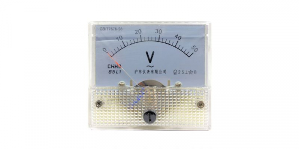 Voltmetru analogic de panou 50V curent alternativ [0]