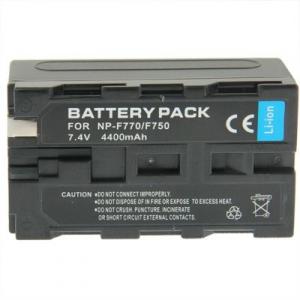 Acumulator GoPro/Camera digitala Sony NP-F770/F750 7.4V, 4400mAh [0]