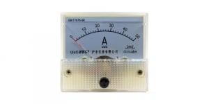 Ampermetru analogic de panou 50A curent continuu [0]
