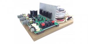 Amplificator audio AC-AMP (2 x 60W) cu traf toroidal [0]