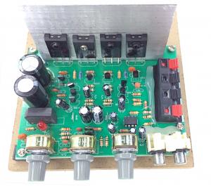 Amplificator audio AC-AMP (2 x 60W) cu traf toroidal [1]