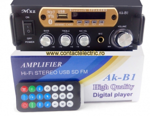 Amplificator Mxz Ak-B1 Hi-Fi stereo mp3 player [1]