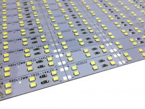 Banda led HARD STRIP led dublu 2835 alb rece,  aluminiu, 144LED/m, alimentare 12V [1]