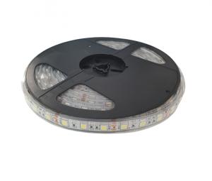 Banda LED submersibila SMD 5050 Alb Rece 60 LED pe metru IP68 [1]