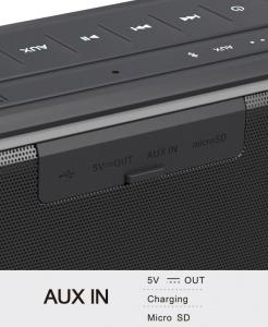 Boxa portabila 10W HFD-895, NFC, BT, PowerBank, MicroSD [2]