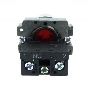 Buton rosu cu apasare cu un contact si 2 pozitii LA167-B2-BA42 [1]