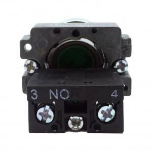 Buton verde cu apasare cu un contact si 2 pozitii LA167-B2-BA31 [1]