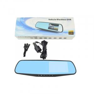 Camera auto cu DVR si display in oglinda retrovizoare universala, FullHD, neagra [2]