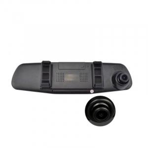 Camera auto cu DVR si display in oglinda retrovizoare universala, FullHD, neagra [3]