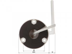 Camera Bullet Wireless Dahua 2Mp 30m IR micro SD IPC-G22-Imou [6]