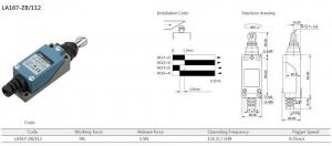 Comutator limitator cu rola metalica longitudinala Kenaida LA167-Z8/112 [2]