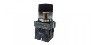 Comutator ON-OFF 0-1 cu 2 pozitii LA167-B2-BD25 [0]