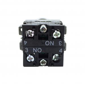 Comutator ON-OFF 1-0-1 cu 3 pozitii LA167-B2-BD33 [1]