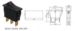 Comutator tip rocker ON-OFF KCD3-101EN [1]
