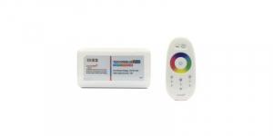 Controler banda LED RGB cu telecomanda prin radiofrecventa RF cu zona control tactil pentru alegere culori [0]