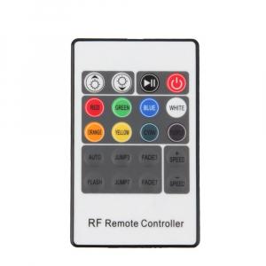 Controler banda LED RGB, telecomanda RF 20 taste, mufa 5.5-2.1 mama [1]